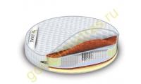 Круглый ортопедический матрас Lonax Round Cocos-Medium S1000